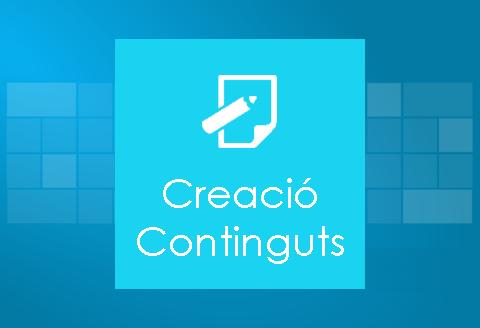 Creació de continguts