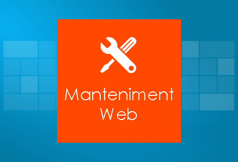 Manteniment webs